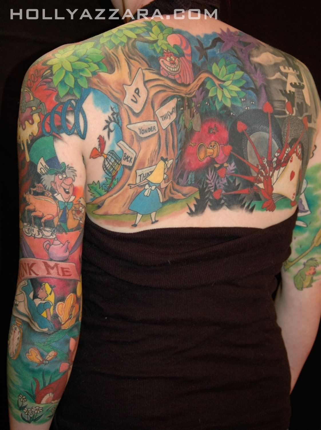 Animated Tattoos For Full Back