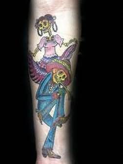 Skull Tattoos Designs For Arm