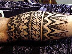 Dark Ink Armband Tattoo