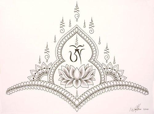 Thai Asian Tattoo Design