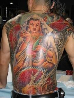 Religious Asian Tattoo