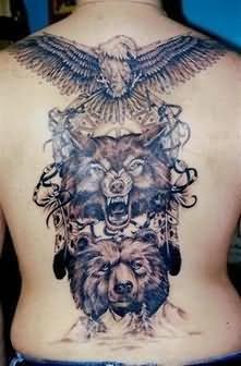 Mind Blowing Back Tattoo