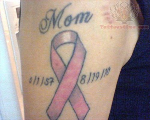 Memorial Breast Cancer Tattoos