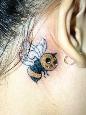 Impressive Bumblebee Tattoo