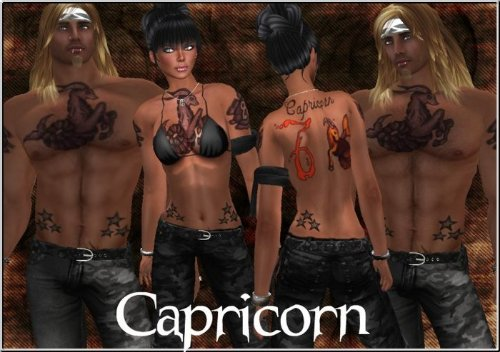 Capricorn Tattoos Designs For Men And Women