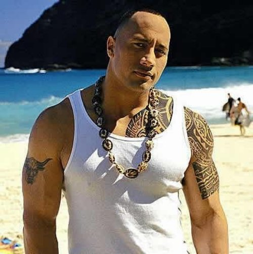 The Rock Tattoos