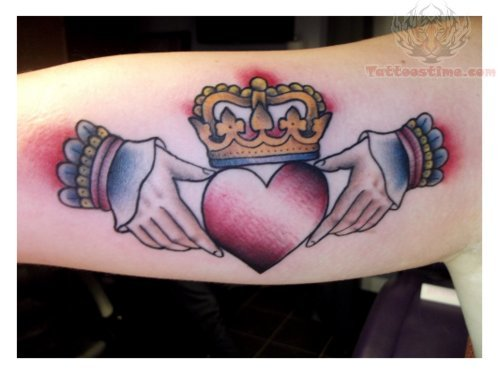 Tumblr Claddagh Tattoo