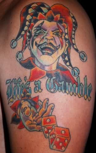 Kym Clown Tattoo