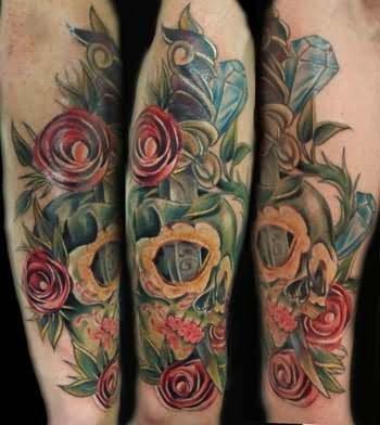 Sugars Skull Tattoos