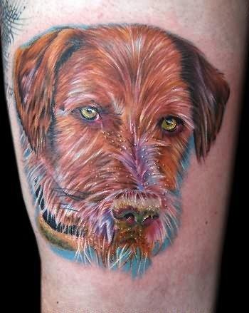 Cecil Porter Face Tattoo