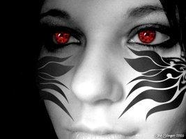 Sharingan Eye Tattoos