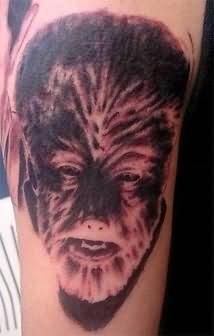 Scary Fantasy Tattoo