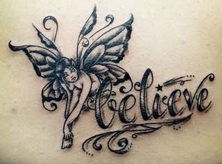 Fairy Believe Fantasy Tattoo