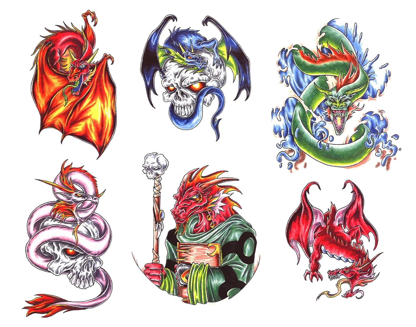 Miscellaneous Fantasy Tattoo