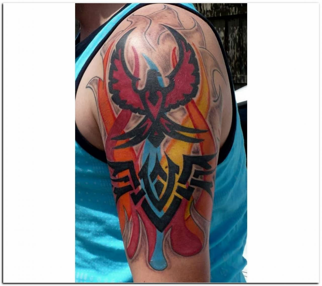 Fire and Flame Tattoo for Men
