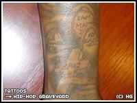 Graveyard Arm Tattoos