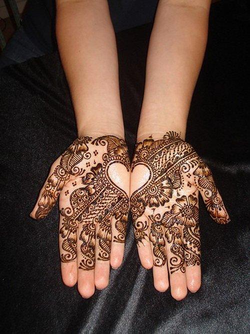 Henna Hand Tattoos For Girls