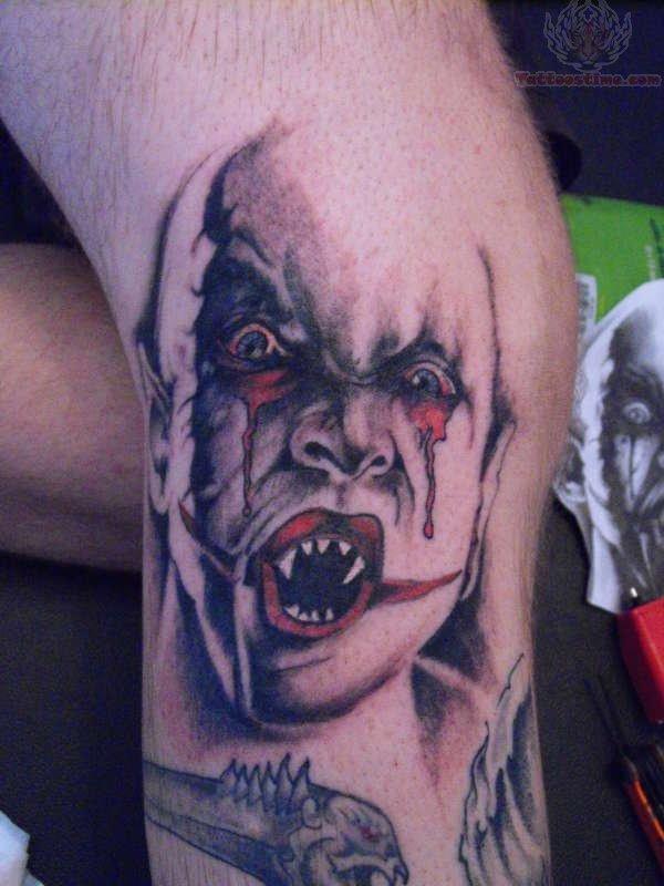 Horror Ghost Tattoo