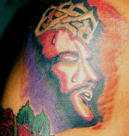 Black Nazarene - Our Father Jesus Tattoo