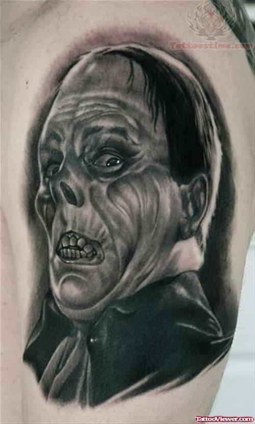 Latino Scary Man Tattoo