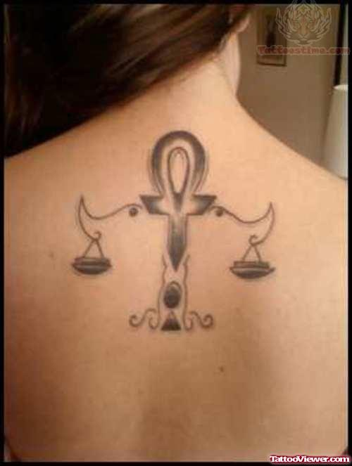 Libra Tattoo Idea