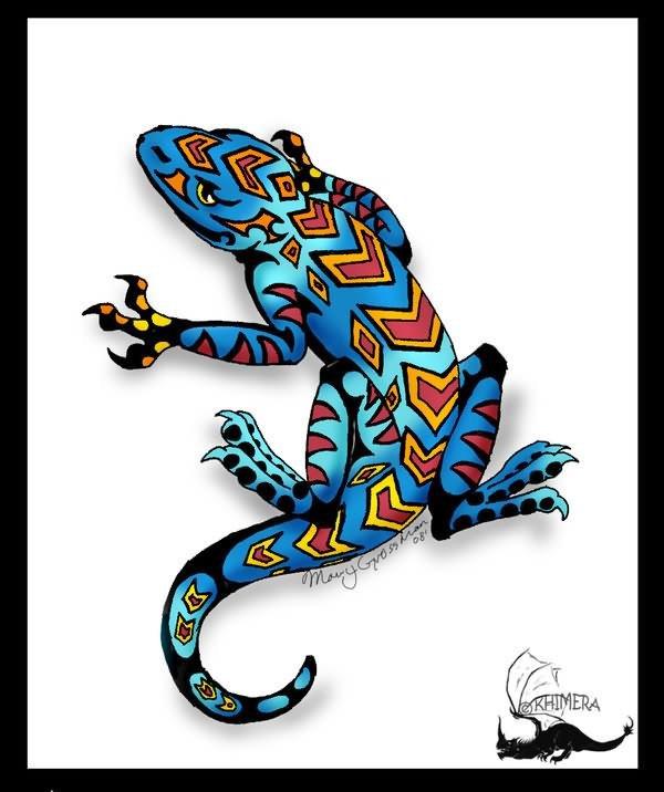Lizard Tattoo Concept