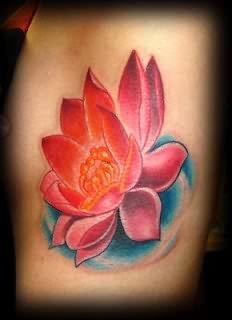 Lotus Tattoo Designs On Ribs