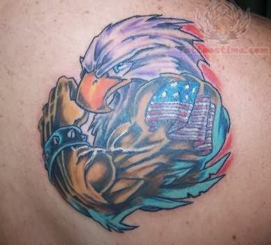 Patriot Eagle - Military Tattoo