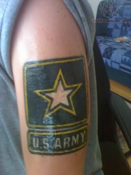 U.S. Army Star Tattoo