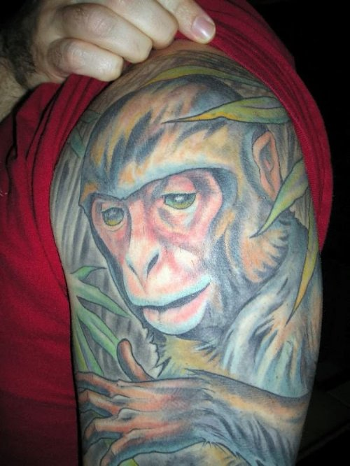 Monkey Tattoo Picture