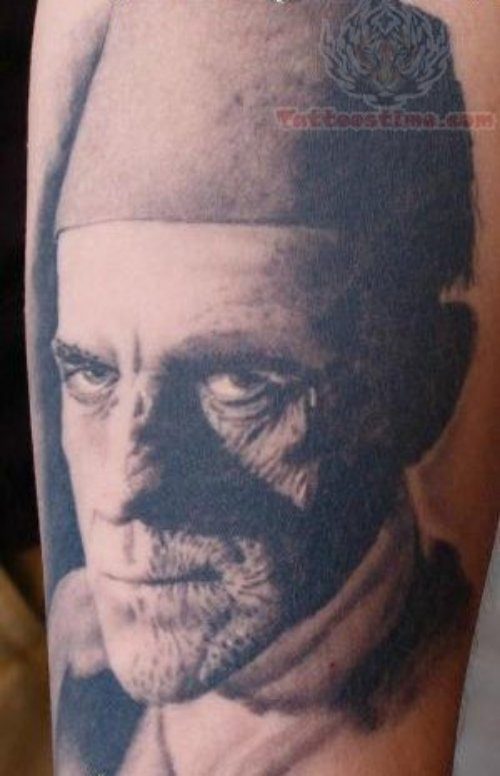 Supernatural - Mummy Tattoo