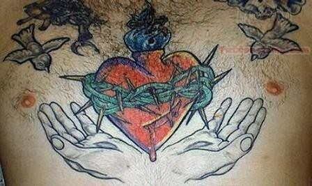 Terrific Old School Tattoo