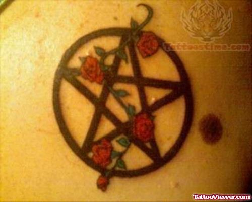 Rane Pentacle Tattoo