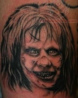 Amazing People Tattoo Looking Ghostly