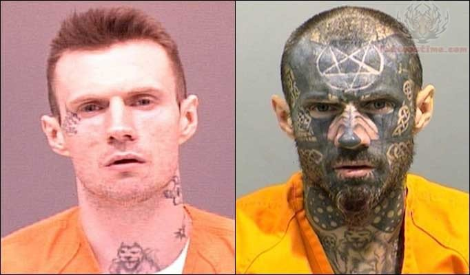Prisoners Tattoos On Face
