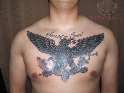Prison Eagle Tattoo