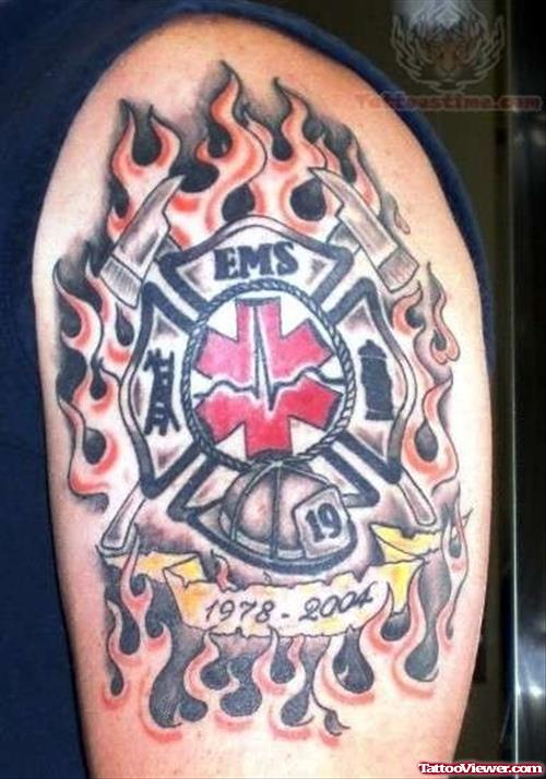 EMS Remembrance Tattoo
