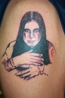 People Tattoo Design On Shoulder