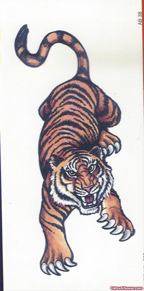 Armband Tattoo Tiger