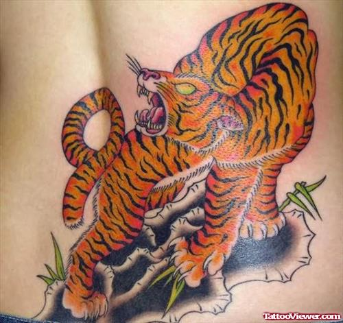 Roaring Tiger Tattoo
