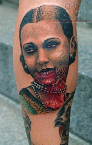 Vintage Skin Tattoo