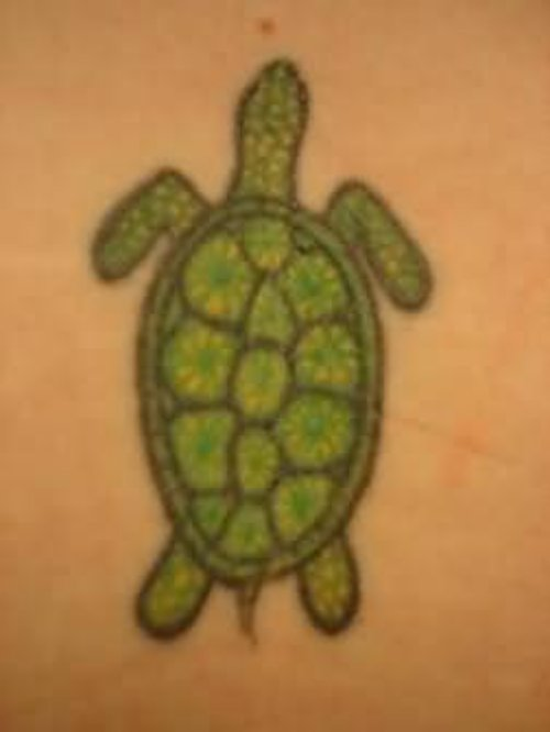 Small Turtle Tattoo